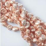 Zdjęcie - Perły seashell nugget beżowe