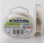 Zdjęcie - Linka stalowa Beadalon siedmiostrunowa 31m silver