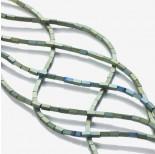 Zdjęcie - Hematyt platerowany matowy czworokąt zielony