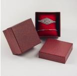 Zdjęcie - Pudełko do biżuterii ozdobne z poduszką czerwone
