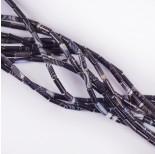 Zdjęcie - Agat czarny walec gładki