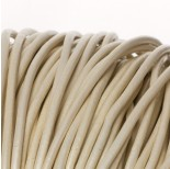 Zdjęcie - Rzemień naturalny lakierowany metalizowany satnowy