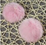 Zdjęcie - Pompon pastelowo różowy