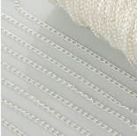 Zdjęcie - Łańcuszek simple w kolorze srebrnym
