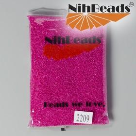 Zdjęcie - Koraliki NihBeads Inside-Color Lustered Crystal/ Mauve Line
