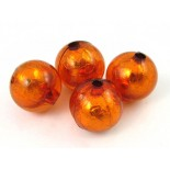 Zdjęcie - Kulka akrylowa pomarańczowa