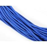 Zdjęcie - Gumka pleciona okrągła ciemno niebieska