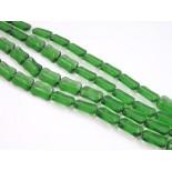 Zdjęcie - Prostokąty szklane ścinane ciemna zieleń