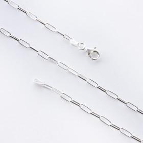 Zdjęcie - Srebrny łańcuszek rolo podłużny AG925