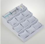 Zdjęcie - Ekspozytor schodkowy z poduszkami 12 komorowy