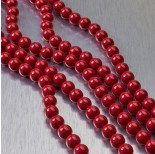 Zdjęcie - 5810 perły Swarovski Red Coral