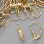 Zdjęcie - Bigle angielskie muszelki real gold color