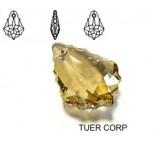 Zdjęcie - 6090 baroque pendant, SWAROVSKI, golden shadow,