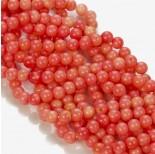 Zdjęcie - Koral bambusowy kulka różowy