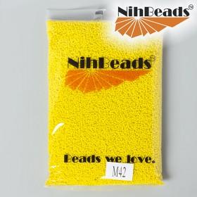 Zdjęcie - Koraliki NihBeads Opaque Frosted Dandelion
