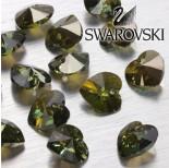 Zdjęcie - 6202 serce SWAROVSKI peridot bronze shade