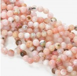 Zdjęcie - Opal różowy kulka gładka