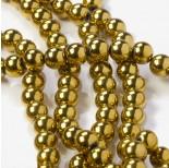 Zdjęcie - Hematyt kulki złote