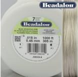 Zdjęcie - Beadalon linka powlekana silver color