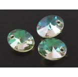 Zdjęcie - 6028 oval pendant, Swarovski, luminous green