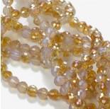 Zdjęcie - Kryształki kulki opal amber