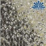 Zdjęcie - Koraliki TOHO Round Silver-Lined Crystal
