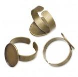 Zdjęcie - Baza pierścionka do wklejania kaboszonów