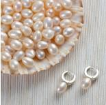 Zdjęcie - Naturalne perły do kolczyków krople