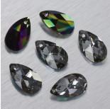 Zdjęcie - 6106 Swarovski almond pendant Crystal Rainbow Dark