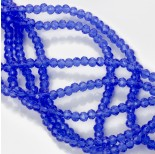 Zdjęcie - Kryształki oponki fasetowane cobalt