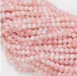 Zdjęcie - Morganit różowy kulka fasetowana
