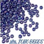Zdjęcie - Koraliki TOHO Round Trans-Rainbow-Frosted Cobalt