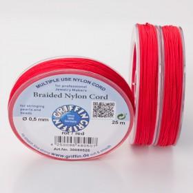 Zdjęcie - Griffin nylonowy sznurek do makramy red