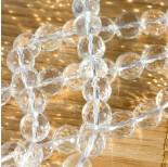 Zdjęcie - Kryształ górski kulka fasetowana przezroczysta