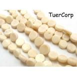Zdjęcie - Koral bambusowy krążki białe