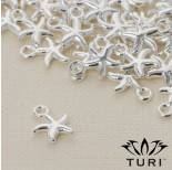 Zdjęcie - Zawieszka rozgwiazda w srebrnym kolorze