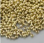 Zdjęcie - Kulki gładkie w kolorze złotym