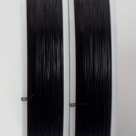 Zdjęcie - Linka stalowa Beadalon siedmiostrunowa 91m czarna
