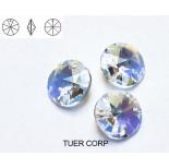 Zdjęcie - 6428 round pendant, SWAROVSKI, crystal AB,