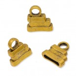 Zdjęcie - Końcówki do rzemieni i sznurków yellow gold