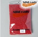 Zdjęcie - Koraliki NihBeads Opaque Frosted Cherry