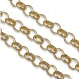 Zdjęcie - Złoty łańcuch aluminiowy rollo