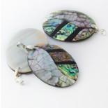 Zdjęcie - Zawieszka z muszli paua 3 kolory