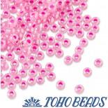 Zdjęcie - Koraliki TOHO Round Ceylon Hot Pink