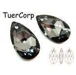 Zdjęcie - 6106 almond pendant, SWAROVSKI, silver night,
