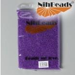 Zdjęcie - Koraliki NihBeads Inside-Color Crystal/ Purple Line