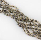 Zdjęcie - Zebra stone baryłka fasetowana
