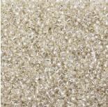Zdjęcie - Koraliki Matsuno round Silver Lined Crystal