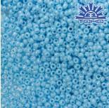 Zdjęcie - Koraliki TOHO Round Opaque-Rainbow Blue Turquoise