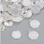 Zdjęcie - Baza do zawieszki w kolorze srebrnym